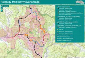 Webstránka - Poloniny Trail trasa