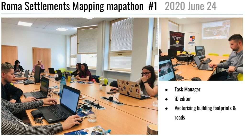 Mapathon na Úrade PSK - jún 2020.